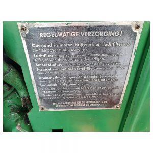 Van den Bosch Tractoren: Tractor Deutz F L 1 514 - Oldtimer
