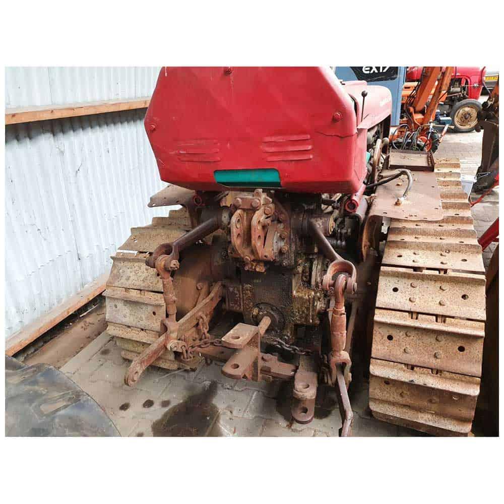 Van den Bosch Tractoren: Rups tractor Massey Ferguson Super 44 - Oldtimer